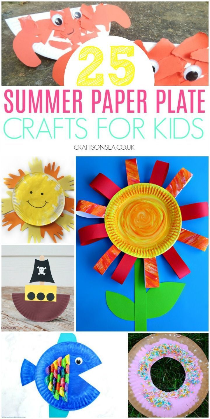 25 Fun Summer Paper Plate Crafts for Kids To Make
