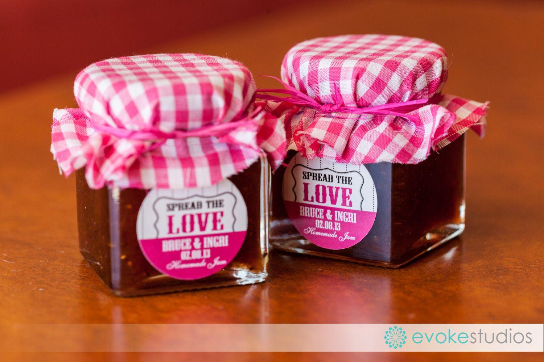 Homemade jam wedding decorations | Wedding Decorations - Themes ...