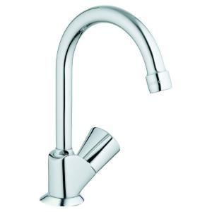 Grohe Classic Pillar Tap Single Handle Bar Faucet In Starlight