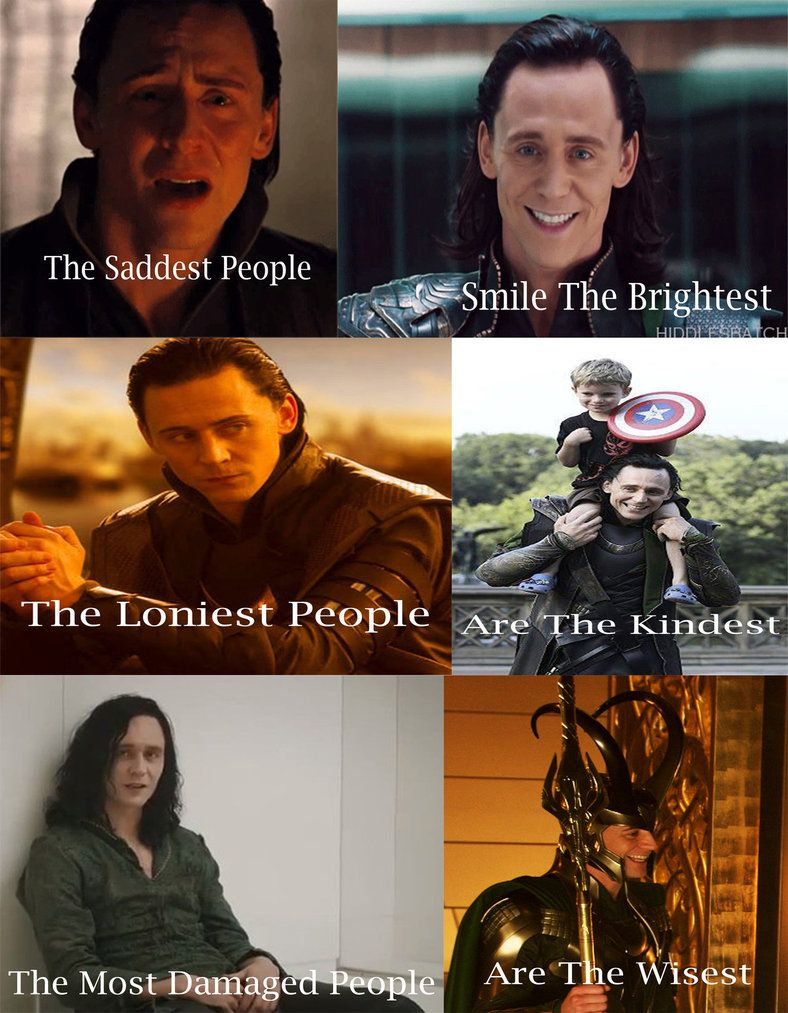 Loki: sad, lonely, damaged by madhatter139