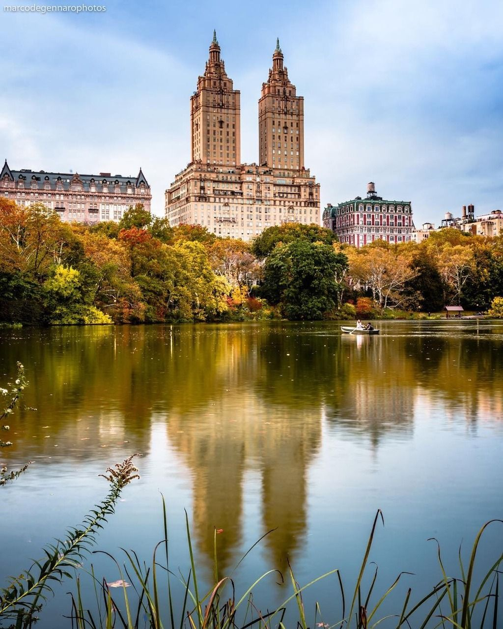 Autumn in Central Park by Marco Degennaro Photography - The Best ...