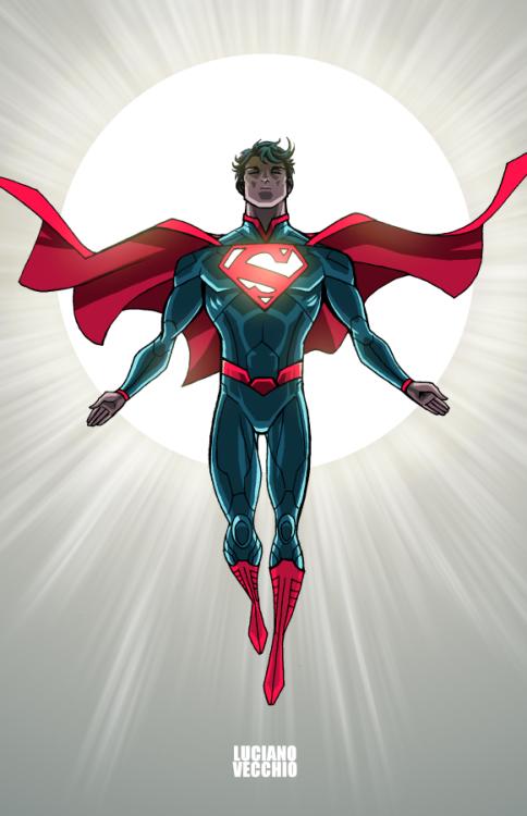 Sun God - Luciano Vecchio | Dc comics heroes, Superman art ...