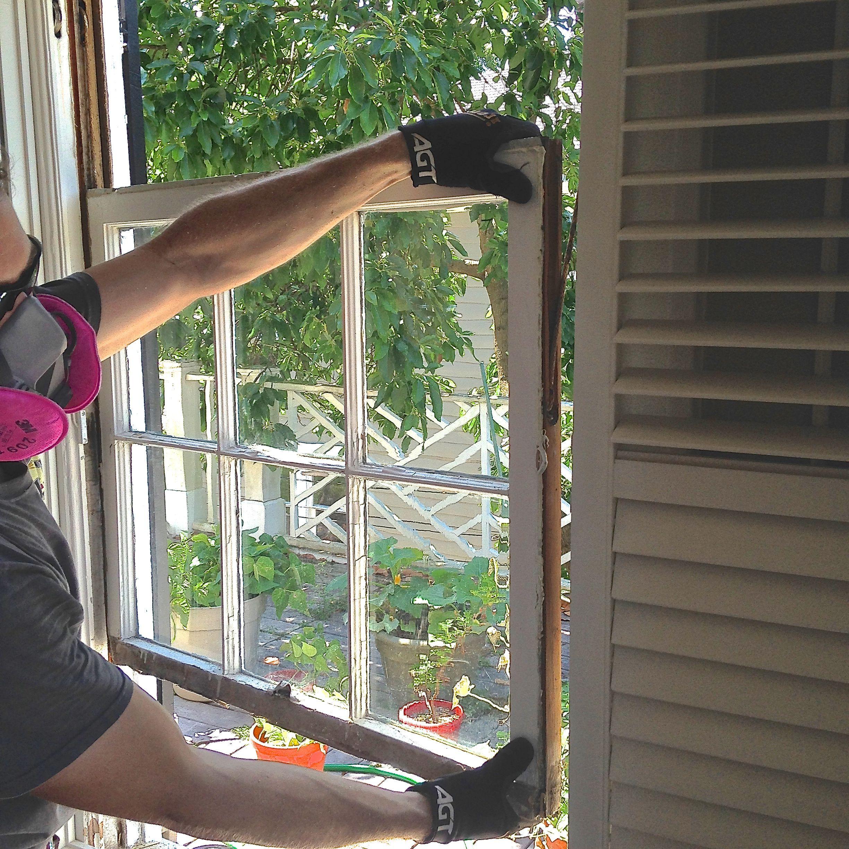 How To Remove Window Sash The Craftsman Blog Window Restoration Sash Windows Diy Window