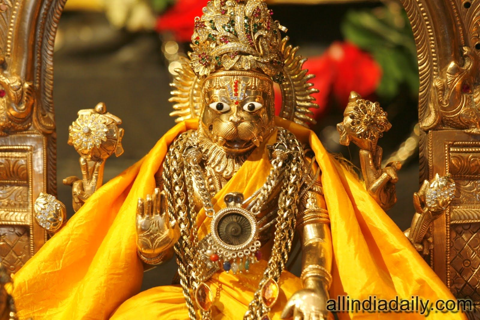 Lakshmi Narasimha Swamy Hd Wallpapers Free Download Narasimha