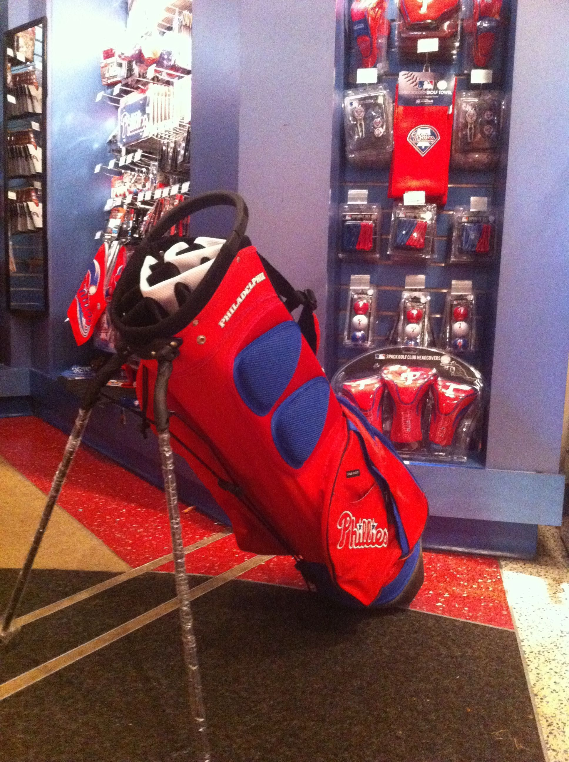 New Golf Gear A Dedicated Section In The Majestic Clubhouse Features Lots Of Phillies To Get That Swing Going
