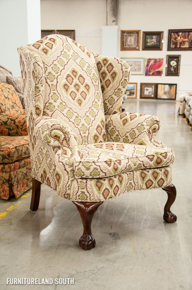 Key City Furniture Outlet Jeff Zimmerman Patterned Raphael Ball And Claw Wing