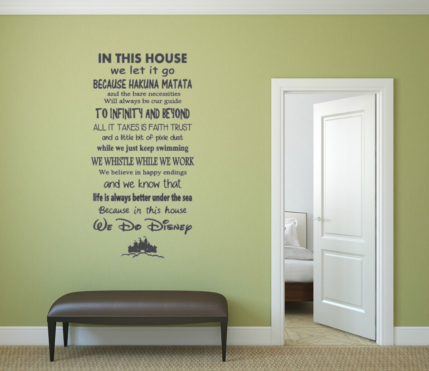In This House Quote. Vinyl wall Decal. by wallopalooza on Etsy https ...