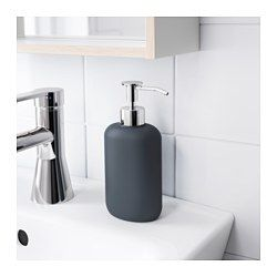 ekoln soap dispenser dark gray interiors pinterest. Black Bedroom Furniture Sets. Home Design Ideas
