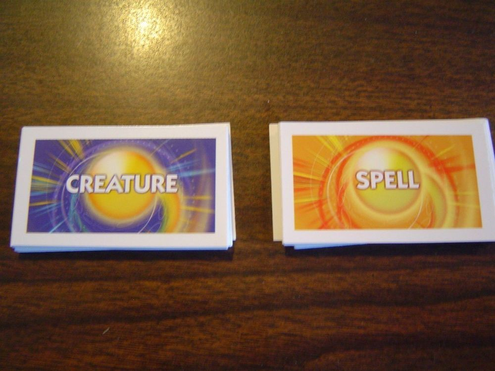Details about spell and creature cards from the duel
