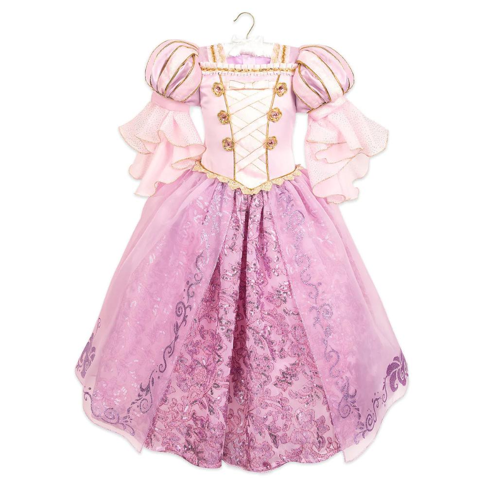 Rapunzel Deluxe Costume For Kids   shopDisney   Costume