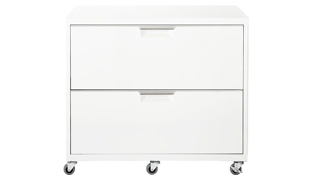 Tps White Steel Filing Cabinet