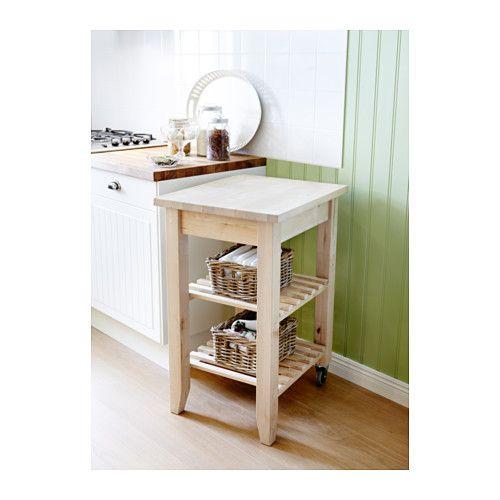 BEKVÄM Kitchen Trolley, Birch. Ikea Bar CartIkea ...