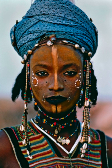 Tribal Ceremony, African woman, African ceremonial costume