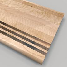 Best Stair Tread Contrast Detail Wood Treads With Visual 400 x 300