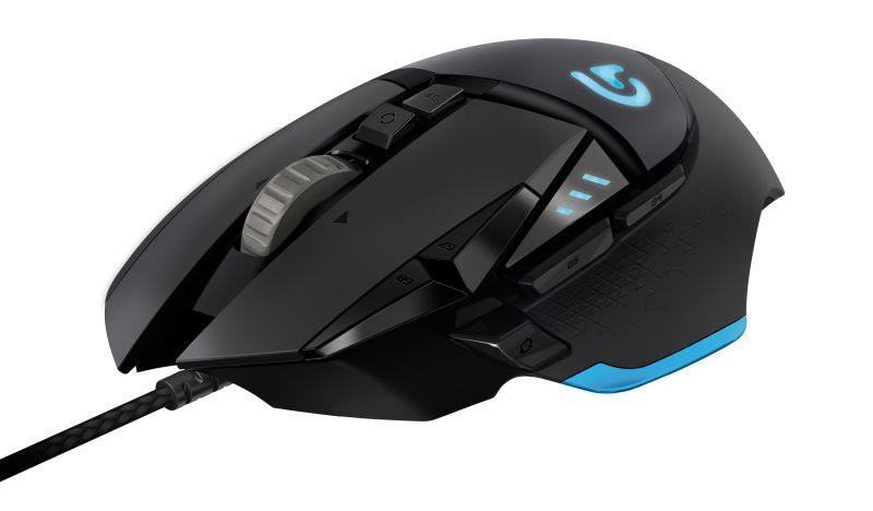 G502 Porteus Core, el nuevo ratón gamer de Logitech