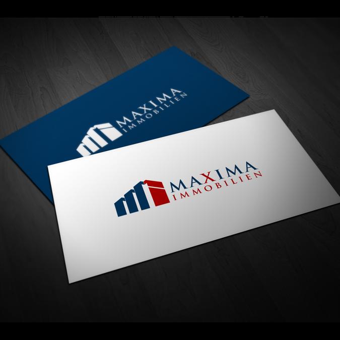 Maxima Immobilien - freut sich auf ein top Logo by choliaxy