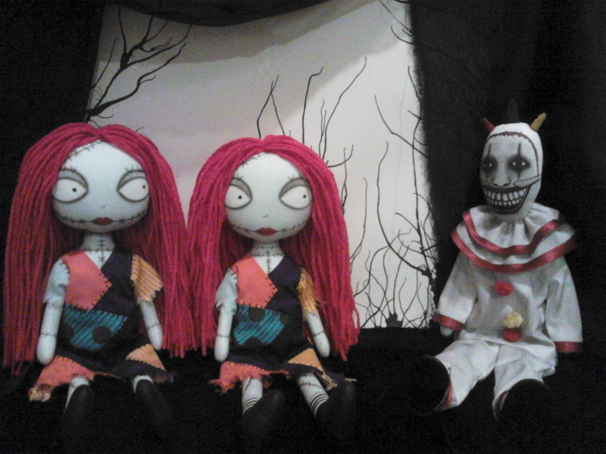 Custom orders : American Horror Story Twisty the Clown & Nightmare ...