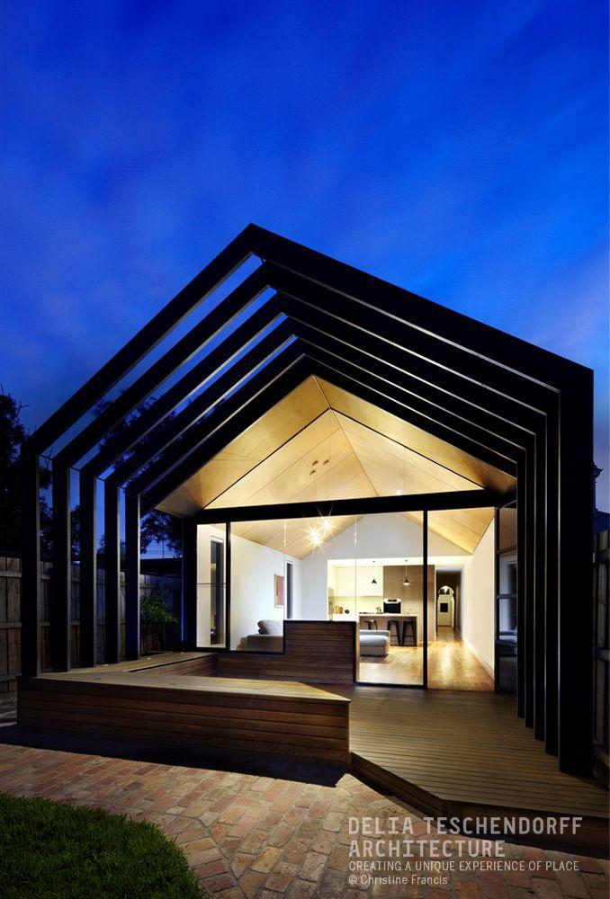 Extrusion house by delia teschendorff architecture home for Portale design