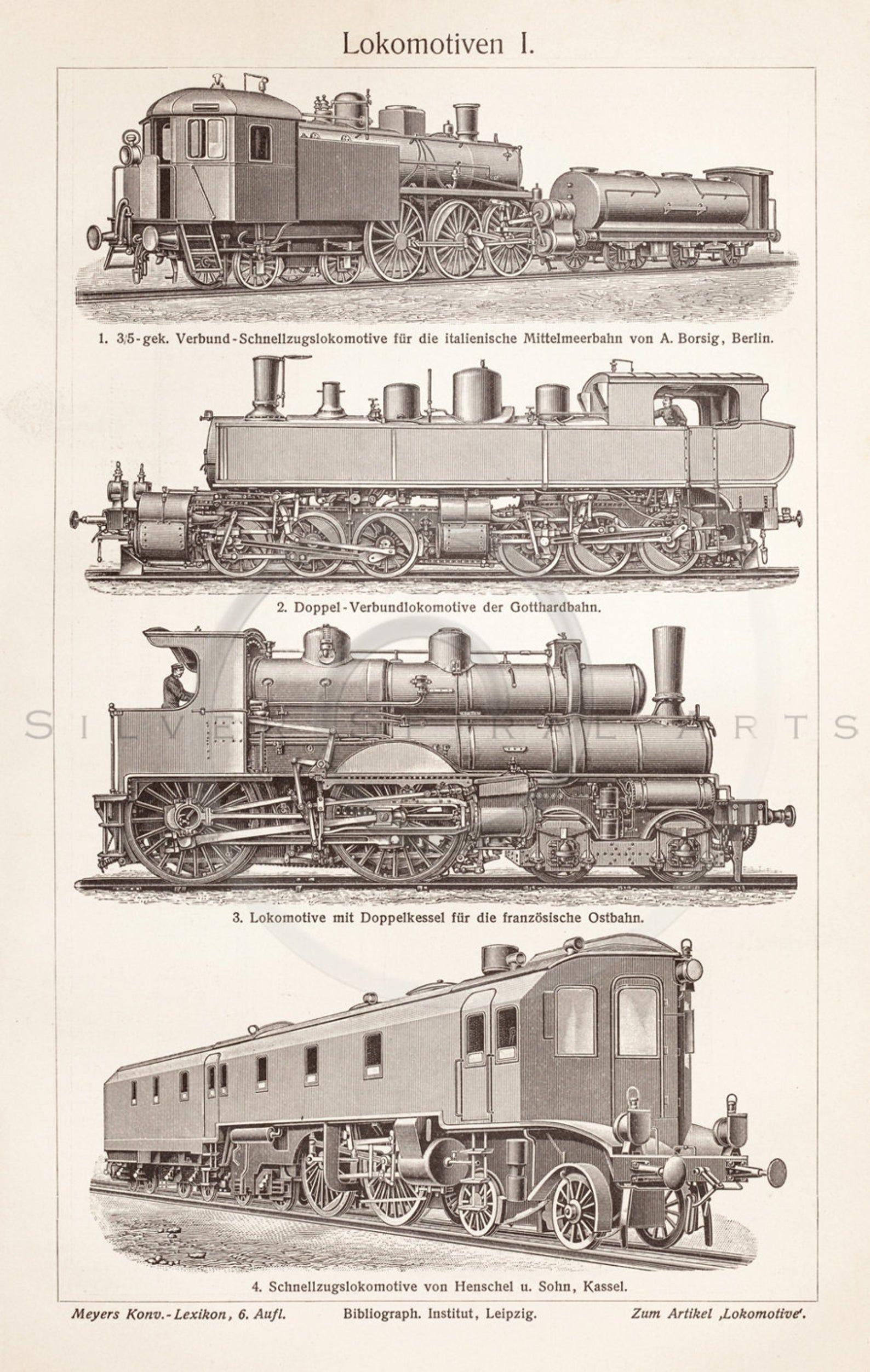 Vintage Train Printable Transportation Illustration 1800s Etsy In 2021 Vintage Train Train Drawing Model Trains