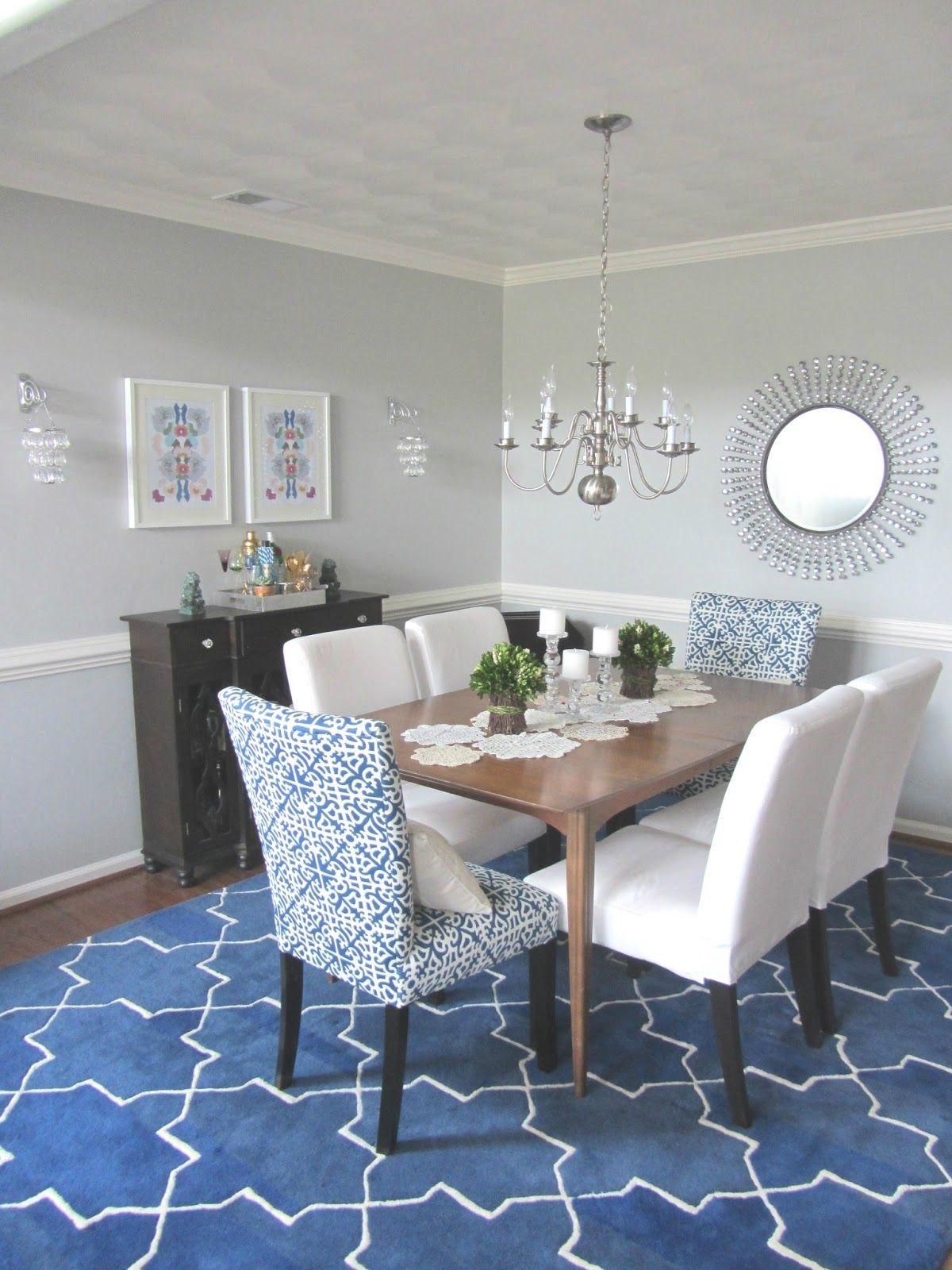 Best Client Reveal Cobalt White Dining Room Farmhouse 640 x 480