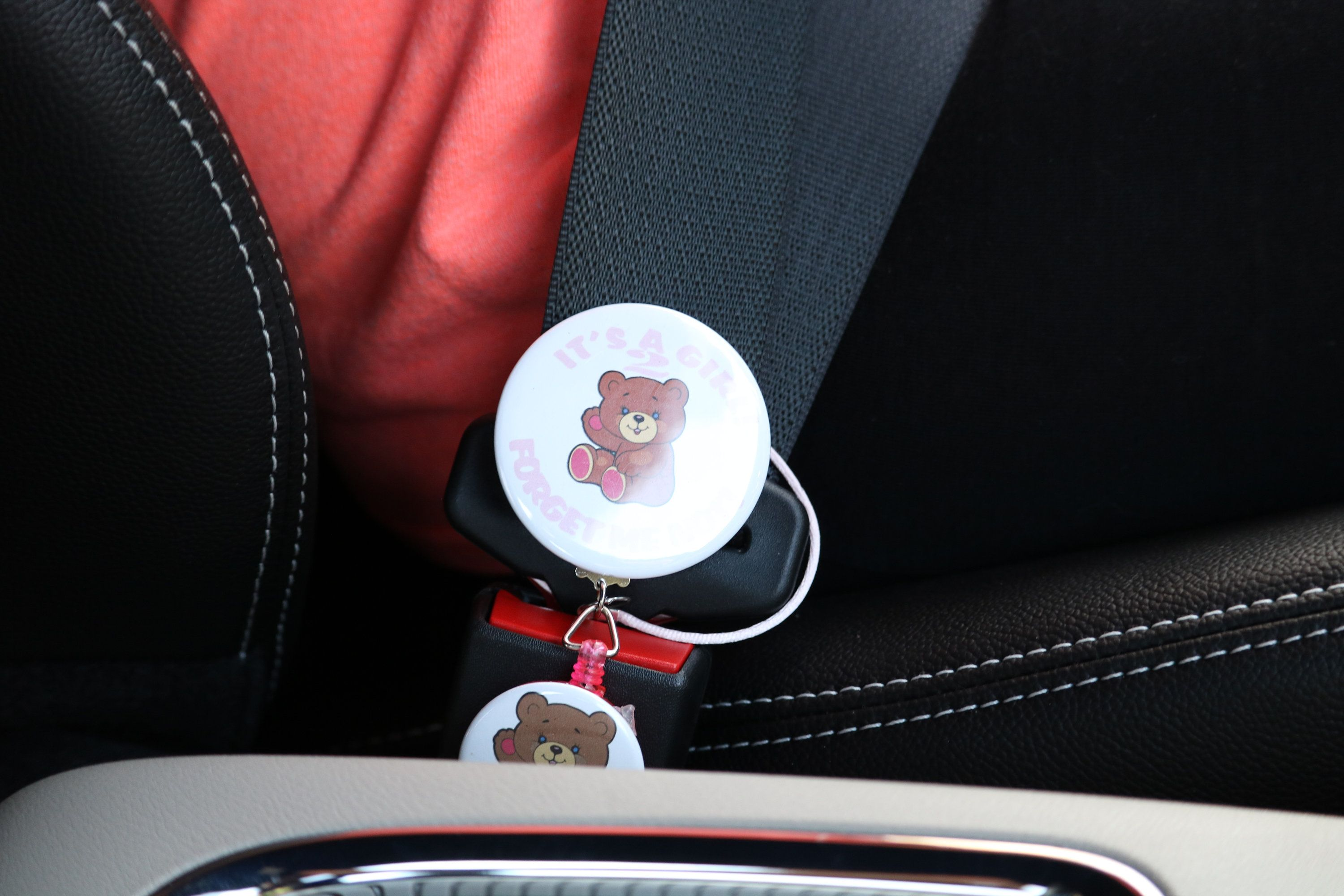 Child In Car Seat Reminder The Forget Me Not 2 It S A Girl Car Seats Buy Used Cars Car