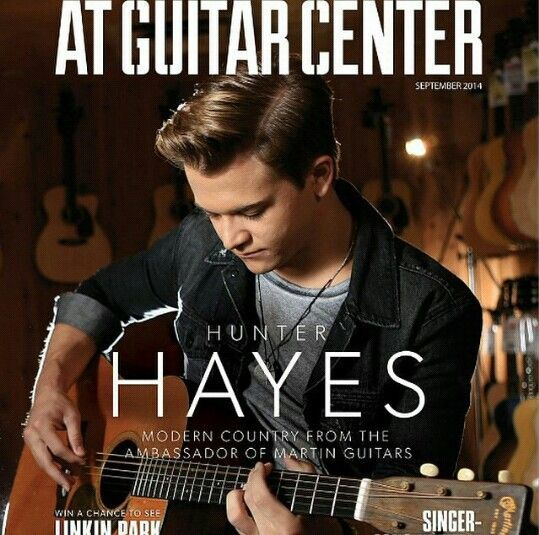 Pin By Sarah Lindner On Hunter Hayes Hunter Hayes Singer Guitar Center