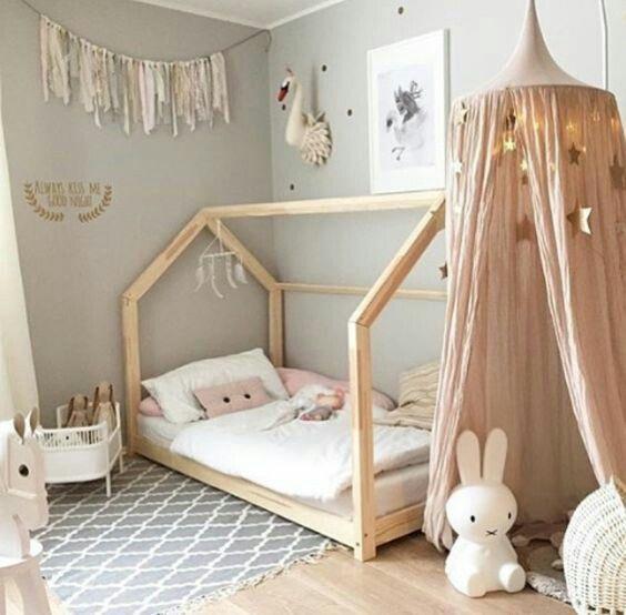 A Beautiful Little Girl S Room Kids Bedroom Decor Toddler