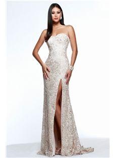 Charming  A-Line Pierced Floor-Length Beading Lace Evening Dress  10990893 - Elegant - ihomecoming.Com