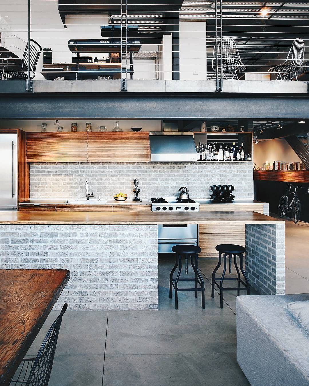 Industrial Loft By SHED Architecture Design
