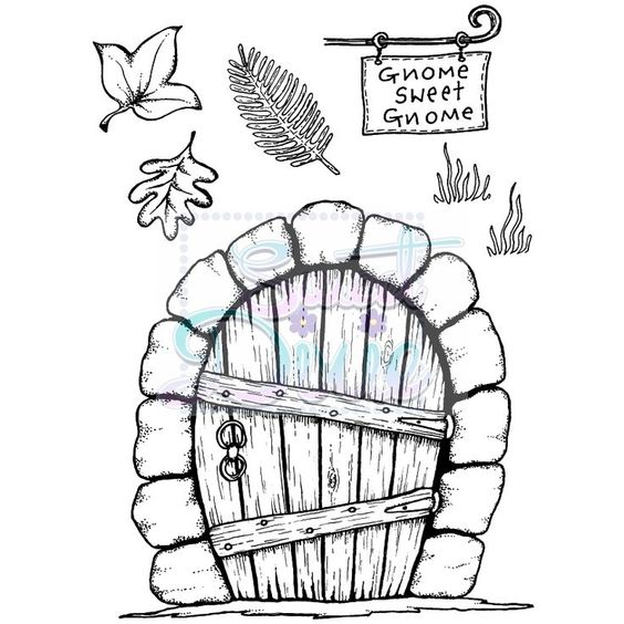 Hadas Y Ratones Viviendo En Nuestra Casa Segunda Parte Bebeazul Top Gnome Door Diy Fairy Door Fairy Garden Doors