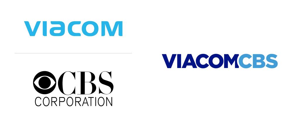 New Name And Logo For Viacomcbs Typography Branding Visual Branding New Names