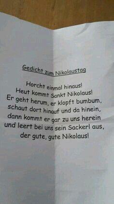 nikolaus - Bildungsniveau #1.adventspruch