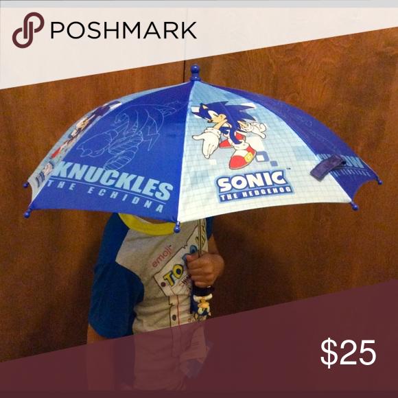 New Sonic The Hedgehog Umbrella For Kids Kids Boutique Kids Branding Kids