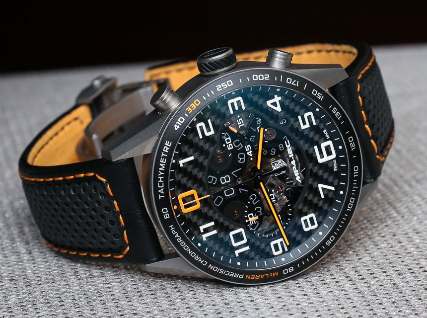 TAG Heuer Carrera MP4-12C Chronograph McLaren Watch Revisited ...