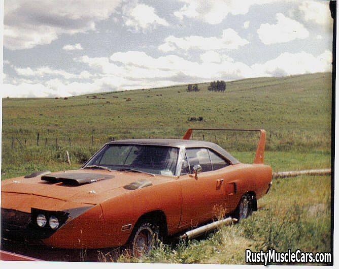 "1970 Plymouth Superbird On The Farm ""FARMBIRD"""