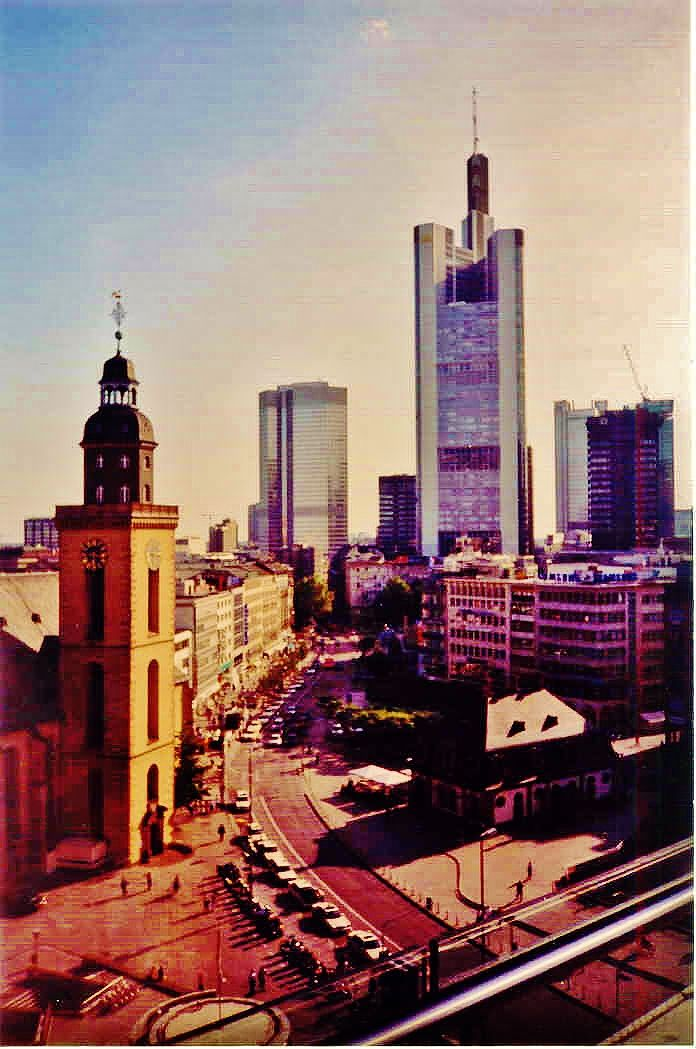 Frankfurt, Germany. Chapter of Changes.