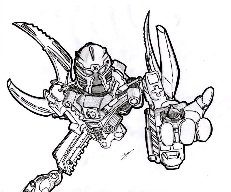 mata nui and click | drawing inspiration | pinterest | bionicle ... - Hero Factory Coloring Pages Furno