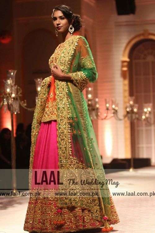 Latest Mayun Dresses for Bride-- Laal (the wedding ...