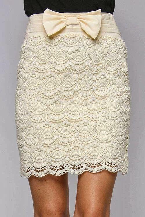 Patrones Crochet: Falda -Nos vamos de Boda- Patron   vestidos ...