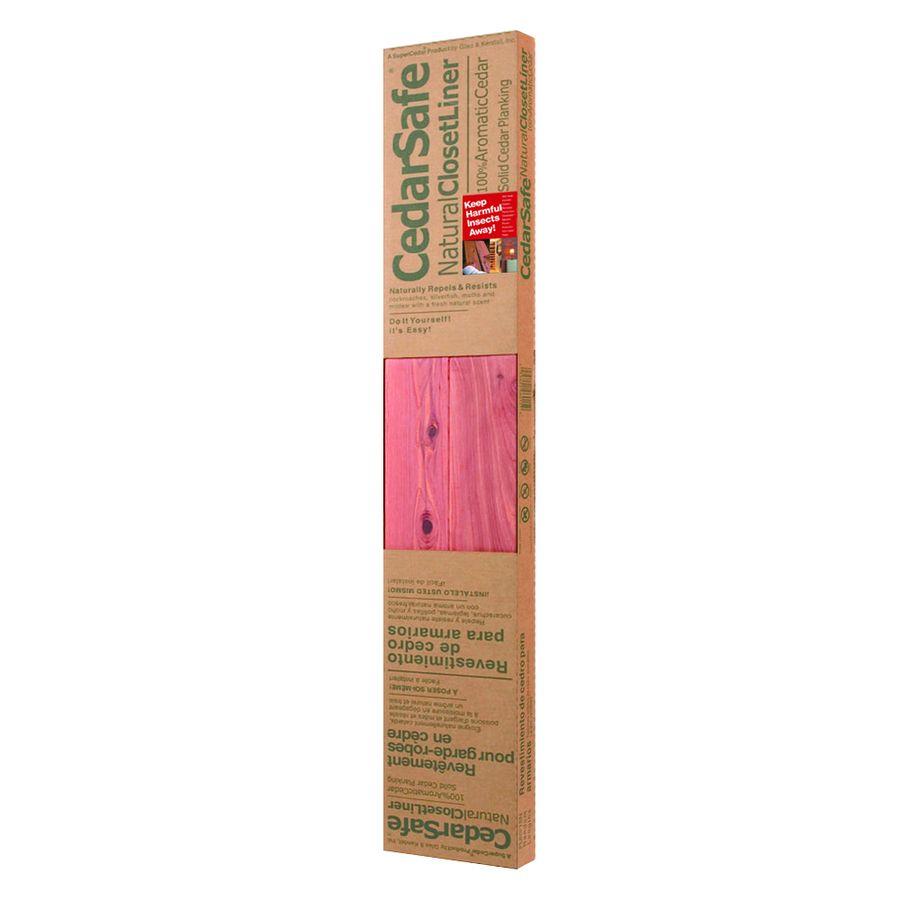 Cedarsafe 3 75 In X 4 Ft Red Aromatic Cedar Wall Plank Cedar Walls Wall Planks Plank
