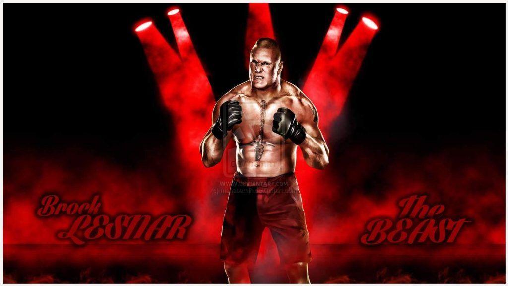 Brock Lesnar WWE Wallpaper