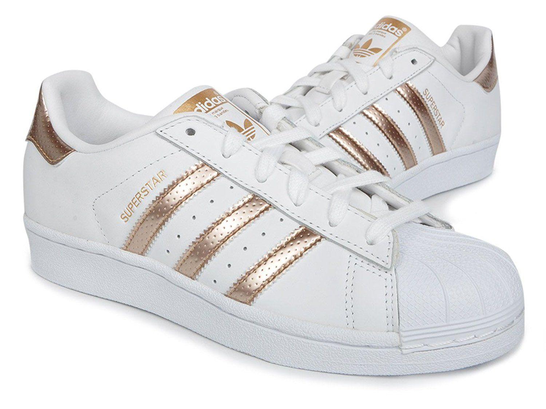 adidas damen superstar w sneaker rosegold