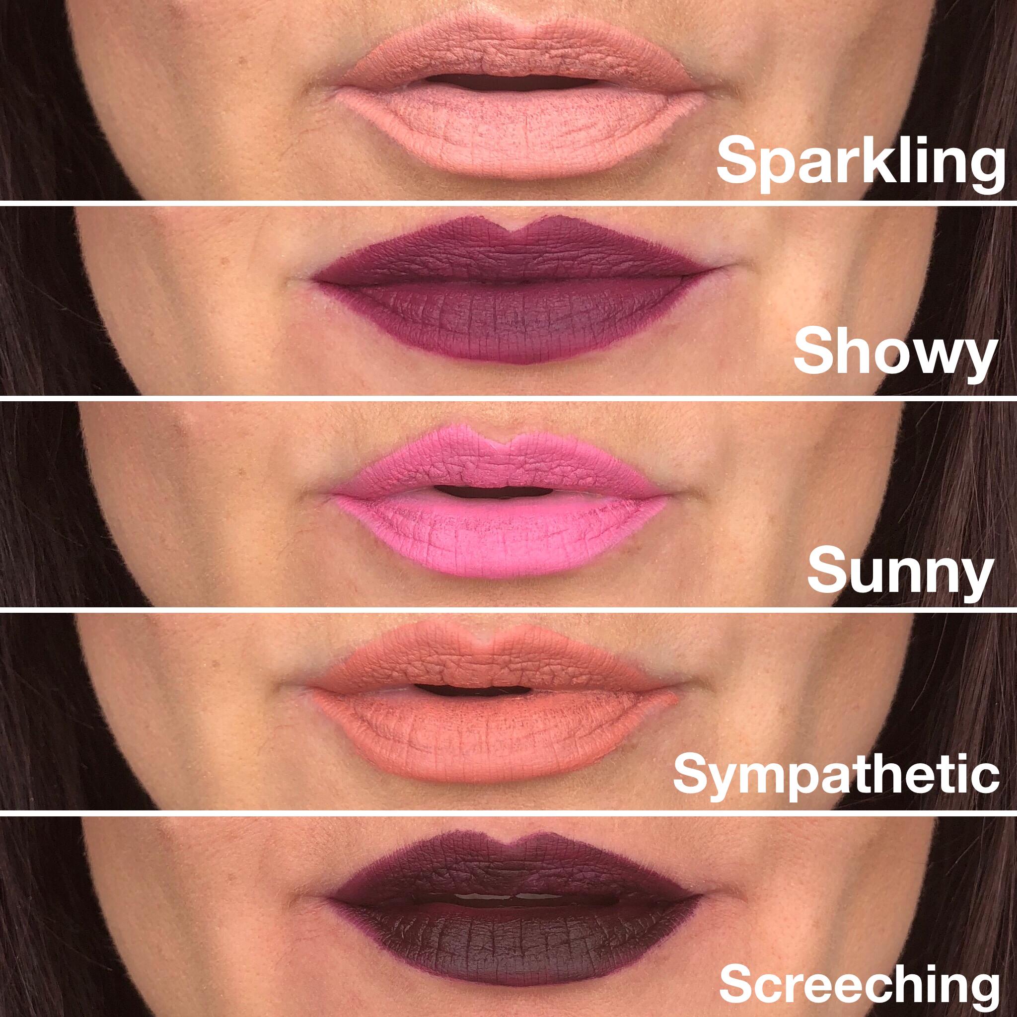 NEW Splash Liquid Lipsticks Fall 2018 Younique Sparkling ...