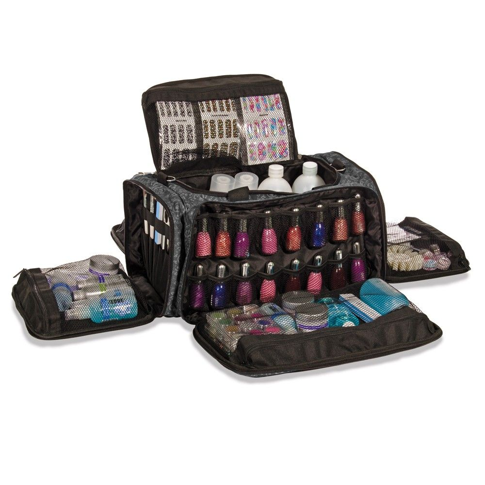 Glamour Nail Technicians Session Bag Imperial Black Tech Bags Collection Roo