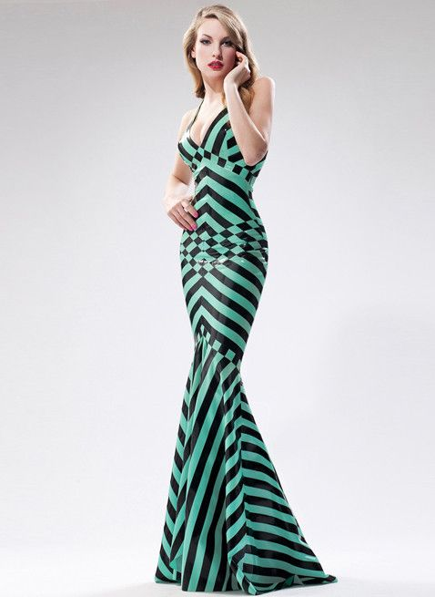 Latex Deco Dynasty by William Wilde. Breath-taking striped latex ...