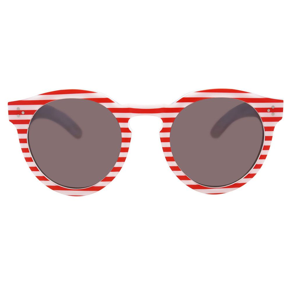 fun red and white striped sunglasses. nautical , july 4th illesteva 280