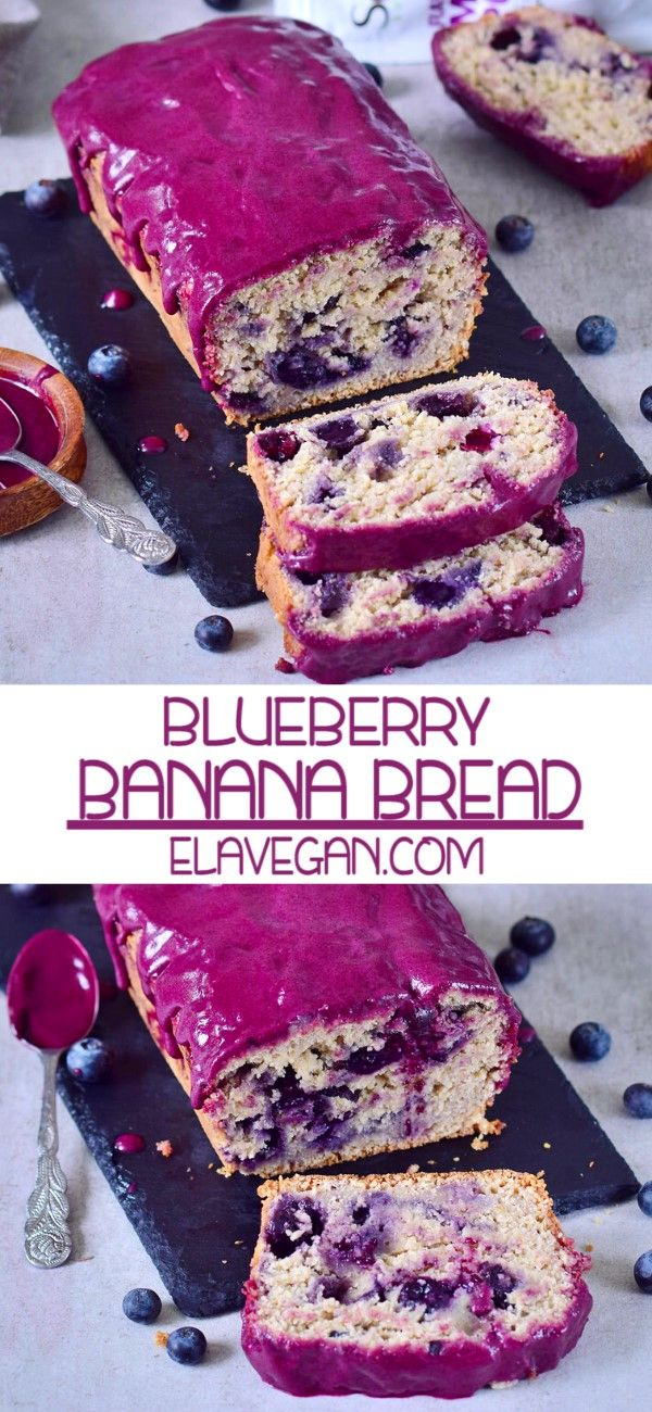 BLUEBERRY BANANA BREAD #desertlife