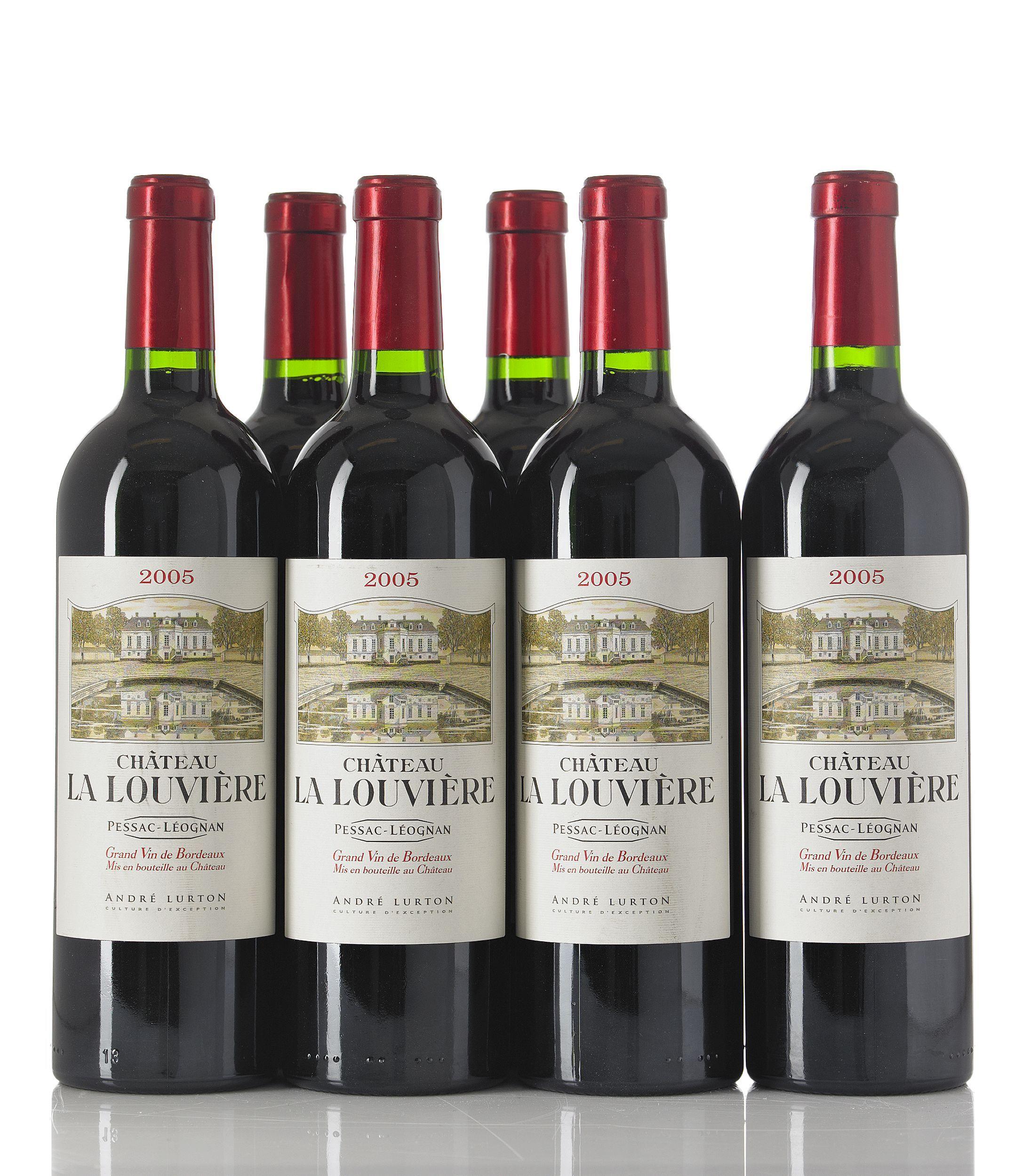 Chateau La Louviere 2005 Red Wine French Wine Wines Wine Bottle