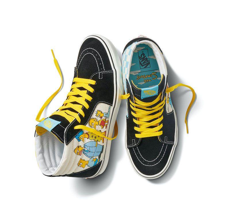 Juxtapoz Magazine - The Simpsons x Vans Capsule Collection Has ...