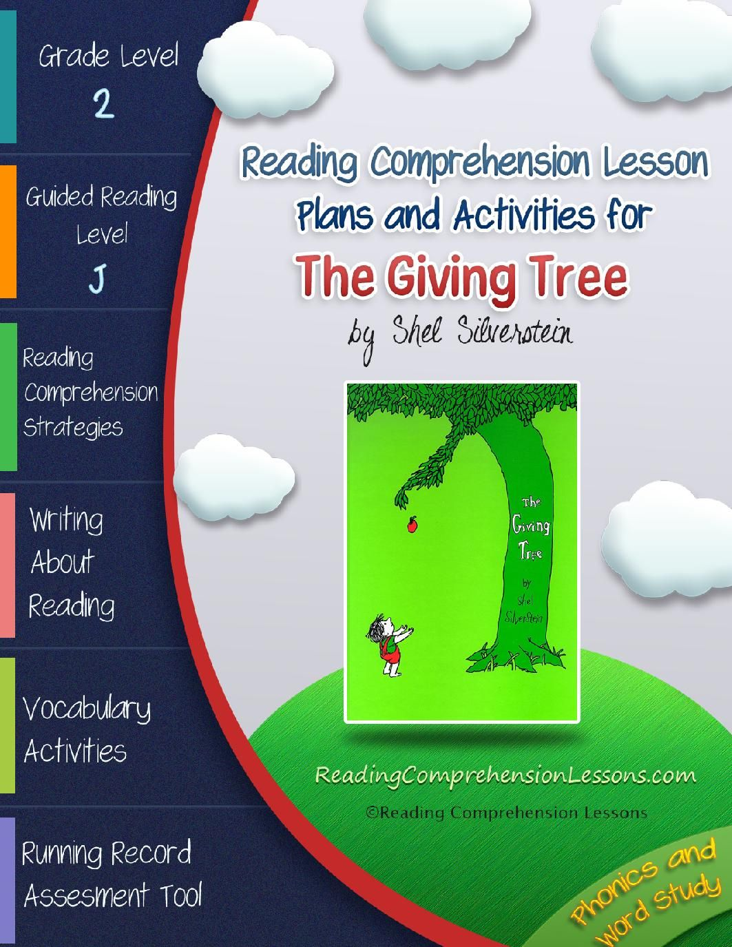 The Giving Tree Lesson Plans Amp Activities Package Ccss